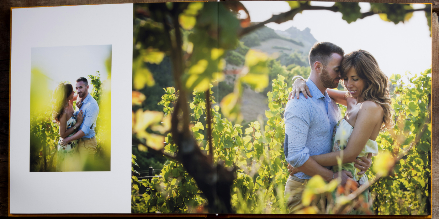Engagement Photo Album - ARTPHOTO EVALUNA